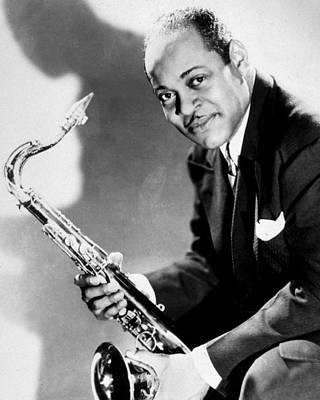 Saxophone Player Photograph -  Coleman Hawkins  by American School