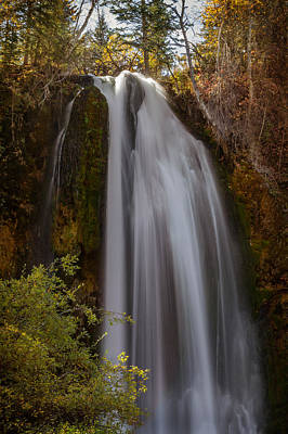 Photograph -  Colors Of Autumn At Spearfish Falls by Ray Van Gundy