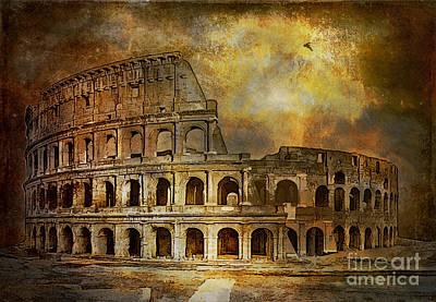 Colosseum Print by Andrzej Szczerski