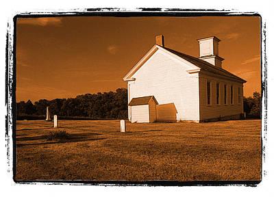 Country Church Art Print by Craig Perry-Ollila