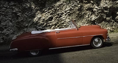 Photograph -  Cuba Car 7 by Will Burlingham