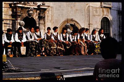 Yugoslavian Photograph -  Cultural Dance Group by Morris Keyonzo