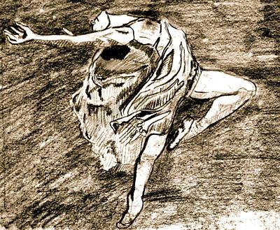 Dancer Art Print by Dan Earle
