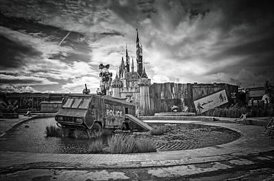 Installation Art Photograph -  Dismaland Castle by Jason Green