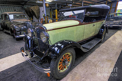 Photograph -  Dodge 6 Cylinder Sedan by Ian Mitchell
