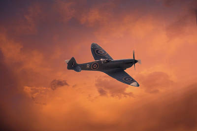 Mkix Photograph -  Dusk Sweep by Dave Godden