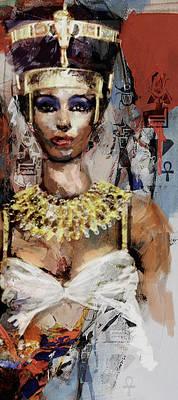 Egyptian Culture 10b Art Print by Mahnoor shah