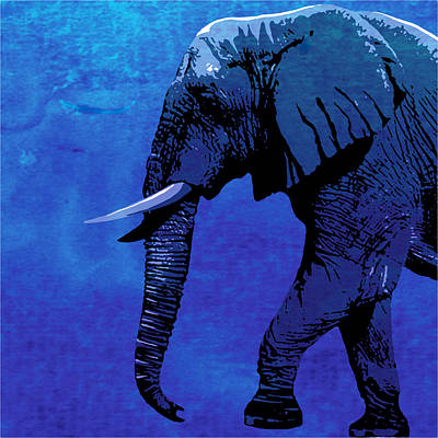 Elephant Animal Decorative Wall Poster  4 Art Print
