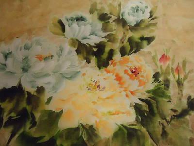 Flower 0727-3 Art Print
