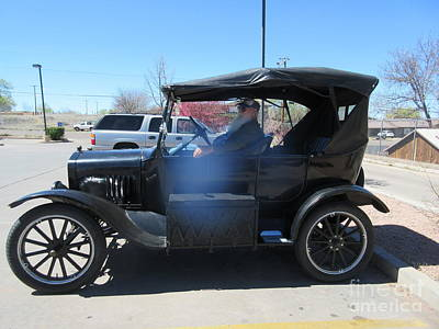 Ford Model T Art Print by Frederick Holiday