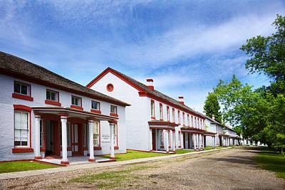 Fort Totten North Dakota Officers Row Art Print