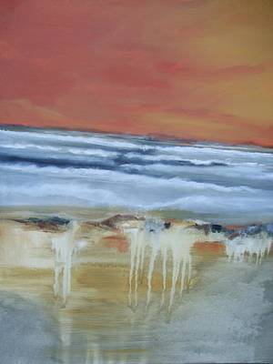 Painting -  Frost Line by Janet Visser