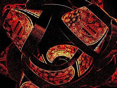 Digital Art -  Galactic Flow by Will Borden