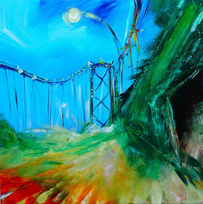 Painting -  Gate Bridge by Larissa Pirogovski
