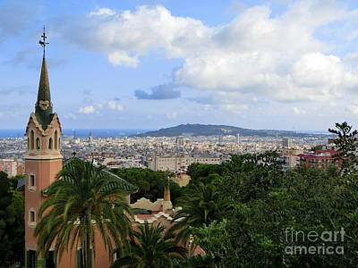 Photograph -  Gaudi's Home Park Guell by Amy Williams