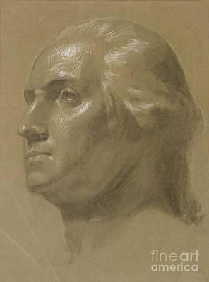Huntington Painting -  George Washington by Celestial Images