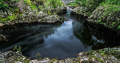 Photograph -  Glentrool Inky Pool New Galloway by David Attenborough