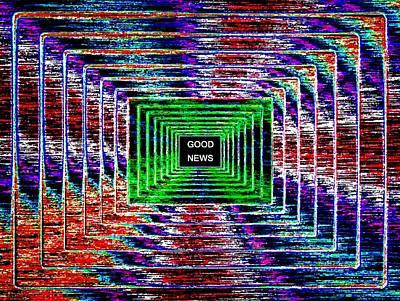 Digital Art -  Good News  by Will Borden