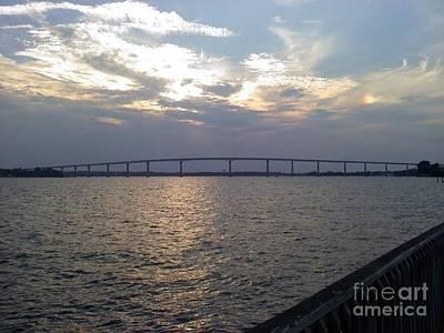 Photograph -  Gov Thomas Johnson Bridge by Jimmy Clark