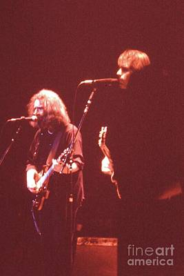 Photograph -  Grateful Dead In Concert by Susan Carella