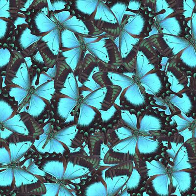 Green Swallowtail Butterfly Art Print by Anastasy Yarmolovich