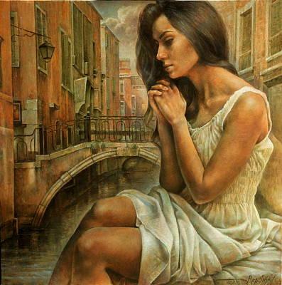 Wall Art - Painting -  Harmony Of Sadness by Arthur Braginsky