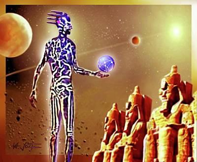 Digital Art -  Mysterious Legends . . .   by Hartmut Jager
