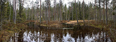 Photograph -  Haukkajoki Panorama 1 by Jouko Lehto