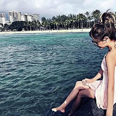 Photograph - きれいな海🐬🐠 #hawaii #likes by Lilia Yuasa