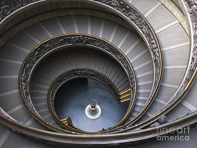 Photograph -  Heart Of The Vatican Museum by Sandra Bronstein