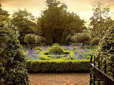Rural Digital Art -  Herb Garden by Jessica Jenney