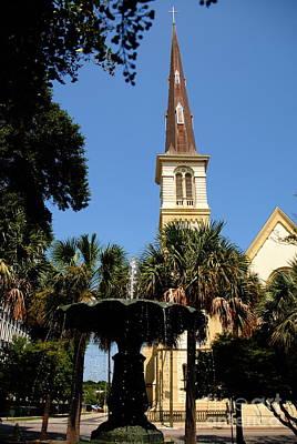 Photograph - Citadel Square Baptist Church by Jacqueline M Lewis
