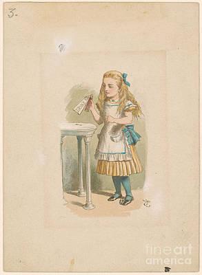 How Alice Grew Tall Art Print