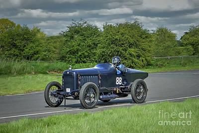 Speed Trials Photograph -  Hudson Super Six Racer by Catchavista