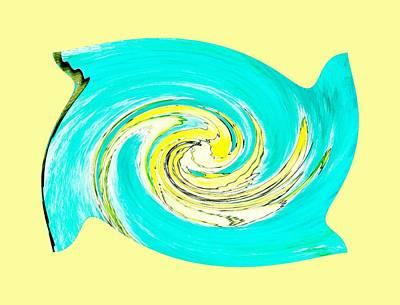 Hurricane Jane Art Print by Marsha Heiken