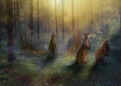 Hush Print by Trudi Simmonds