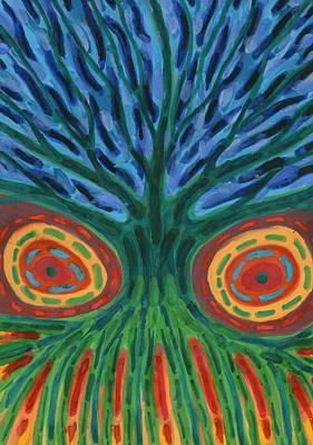 I See You Art Print by Wojtek Kowalski