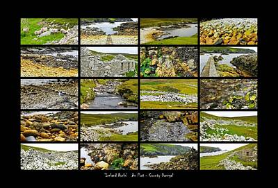 Photograph - ' Ireland Rocks ' Series An Port - County Donegal by Lexa Harpell