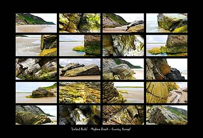 Photograph - ' Ireland Rocks ' Series  - Maghera Beach - Country Donegal by Lexa Harpell