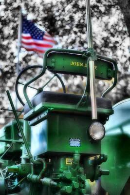 John Deere American Tractor Original by Ben Michalski