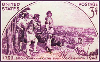 Kentucky Statehood Art Print by Lanjee Chee