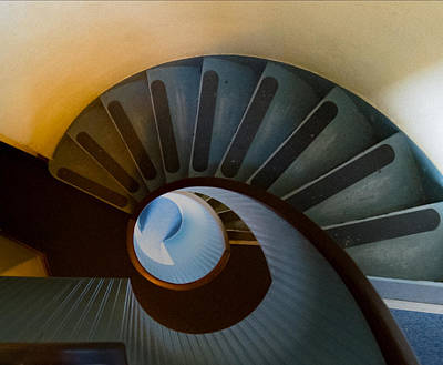 Staircase Photograph - @ by Kirk Cypel