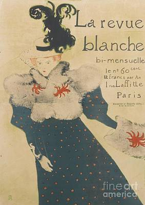 La Revue Blanche Art Print by MotionAge Designs