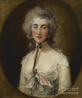 Lady Elliot  Gainsborough Art Print by Grace Dalrymple
