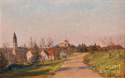 Painting -  Landscape From Turku by Celestial Images