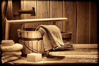 Photograph - Laundry At The Ranch by American West Legend By Olivier Le Queinec