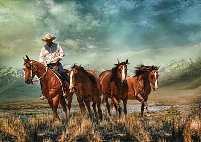 Pony Digital Art -  Liberty by Trudi Simmonds