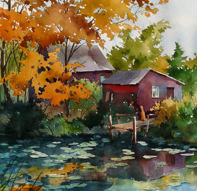 Lily Pond Art Print by Art Scholz