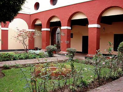 Photograph -  Lima Peru Garden by Brett Winn