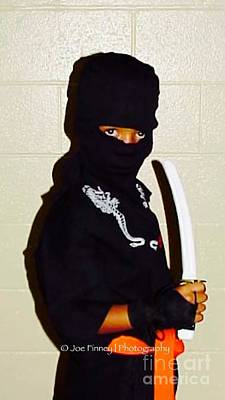 Photograph -  Little Ninja - No.1998 by Joe Finney